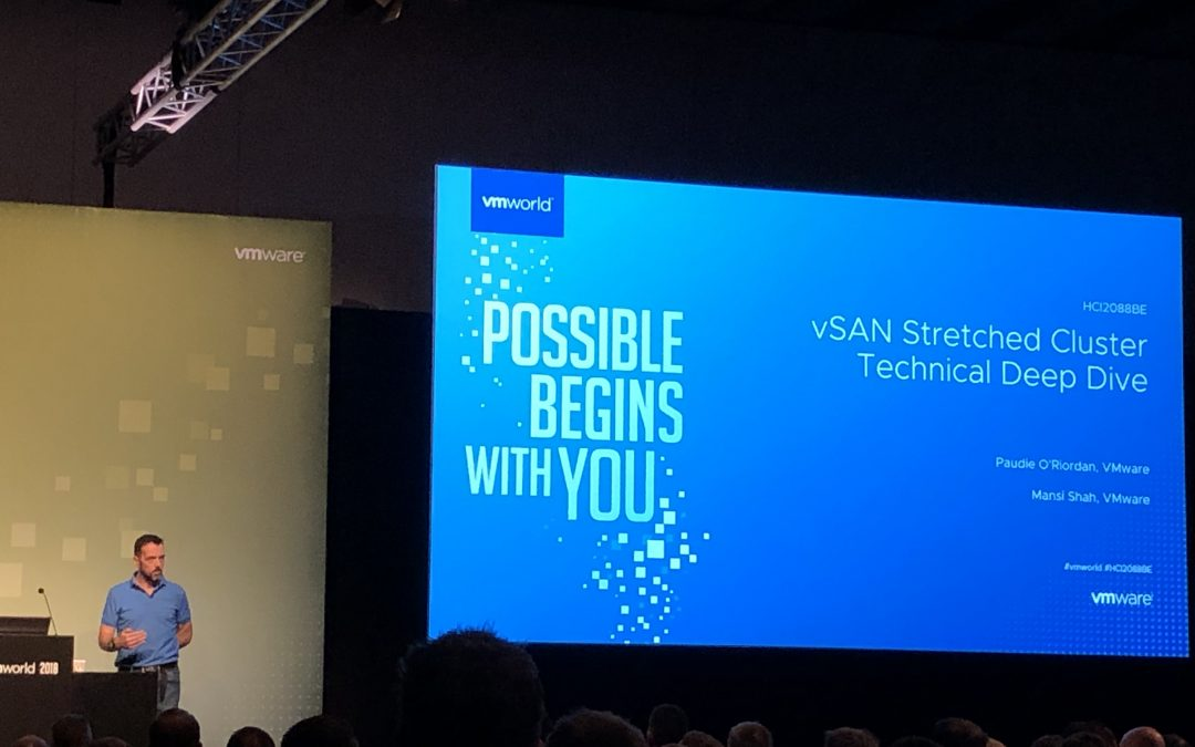 VMworld Barcelona 2018 Day 4